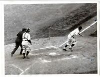 1935 Oct.5 World Series Original Baseball wire photo Gabby Hartnett,Chicago Cubs