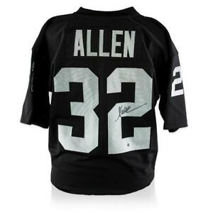 Marcus Allen Back Signed Oakland Raiders Jersey Autograph