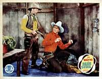 OLD MOVIE PHOTO Blue Steel Lobby Card Gabby Hayes John Wayne 1934