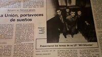 La Union. Actuación en Mallorca. 1984!!