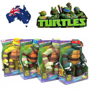 Nickelodeon Practice Mutant Ninja Turtles Michelangelo Raphael Talking Plush Toy