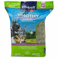 Vitakraft Timothy Hay Premium Sweet Grass Hay 100% American Grown 56 Ounce Re...