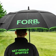 FORB Golf Umbrella - Lightweight Fibre Glass Double Canopy Umbrella Windproof
