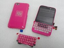 BlackBerry Q5 LCD Pink  Screen and Digitizer Assembly+Complete Housing