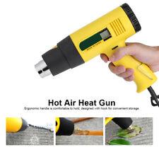 AC 220V 2000W LCD Digital Hot Air Heat Gun Temperature Adjustable Nozzle Safe