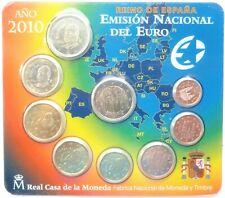 Original KMS EURO 2010 Coin Set Blister Spain