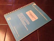 Photo-Sonics V-301 Airborne Video Cassette Recorder Operation Manual