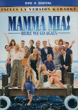 Mamma Mia !  Here we go again - Movie + Karaoke Version (DVD + Digital)