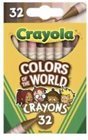 Crayola Colors of the World Multicultural Crayons 32 Pack