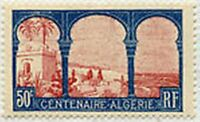 "FRANCE STAMP TIMBRE N° 263 "" ALGERIE MUSTAPHA SUPERIEUR 50c "" NEUF x TB"
