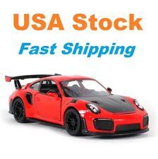 Porsche 911 GT2 RS, Diecast Model Toy Car, Kinsmart, 4 Colors, 1:36 Scale, 5''