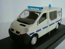 RENAULT TRAFIC VAN POLICE FRENCH EMERGENCY MODEL MINT BOXED VEREM /=/