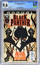 S402. BLACK PANTHER ANNUAL #1 CGC 9.6 NM+ 1st In-Story SHURI as BLACK PANTHER