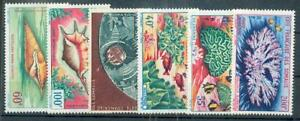 COTE SOMALI 1962 Yvert PA 31-36 ** POSTFRISCH(F0374