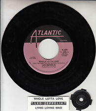 "LED ZEPPELIN  Whole Lotta Love & Living Loving Maid 7"" 45 rpm record NEW RARE!"