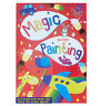 A4 MAGIC PAINTING COLOURING BOOK FOR BOYS GILRS CHILDREN NO MESS JUST USE WATER