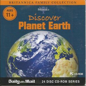 BRITANNICA - DISCOVER PLANET EARTH - DAILY MAIL PROMO PC CD