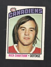 1976-77 O-PEE-CHEE RICK CHARTRAW #244 MONTREAL CANADIENS