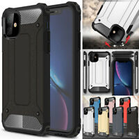 For iPhone 11 Pro X XS Max XR 8 7 6S 6 Plus Case Shockproof Hybrid Armor Cover