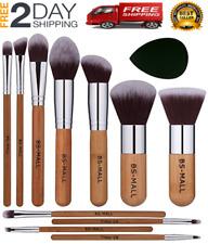 Brochas Para Maquillaje Profesional De Ojos Base Polvo Cara Juego 11 Pcs Set