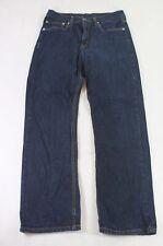 Levis Levi's Jeans 752 Straight-Cut W32 L30 32/30 blau uni -1000