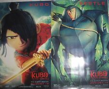 KUBO AND THE TWO STRINGS 2016 Original Mini Movie Posters Lot Of Two Diff Vers