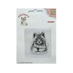 Cat Cling Stamps Nellie Snellen Pussycat Kitten clear craft stamp Animals