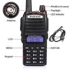 Wireless Baofeng UV82 Handheld Two way Walkie Talkie UHF VHF Communicator RadioX