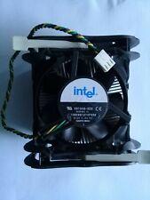 Original Intel Socket 478 Cooler c33218-003 3-pin Copper Core Heatsink FAN  Test