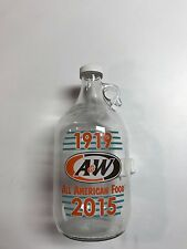 A&W 1/2 Gallon Jug 1919-2015