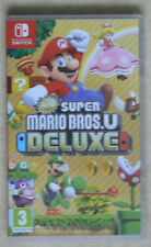 Nintendo Switch / Jeux : New Super Mario Bros.U Delux (VF)