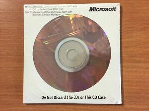 Microsoft Office Small Business 2007 (New & Sealed)