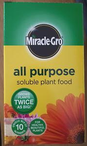 Miracle Gro All Purpose Soluble Plant Food Fertiliser Plant Flower Vegetable 1kg