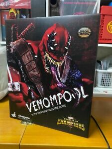 In Stock Hot Toys VGM35 1/6th Marvel:Venompool Soldier Action Figure with Bonus