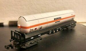 Vagon cisterna Repsol Butano Renfe Ibertren.