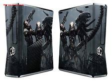 Alien 2 vinyl decal Skin Sticker case cover for xbox360 slim Console Gamepad 121