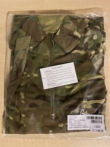 GENUINE BRITISH ARMY MTP MULTICAM UNDER ARMOUR COMBAT SHIRT (UBACS) SIZE 180/100