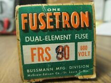 * FUSETRON DUAL-ELEMENT FRS 80 80 AMP FUSE   ...... VE-228