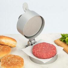 Aluminum Burger Patty Press Maker Hamburger Meat Non Stick Grill Cooking Mould