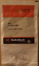 RadioShack 5mm Yellow LEDs 2760350 *FREE SHIPPING*