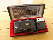Chinon Bellami compact 35mm film camera with fast 35mm / F2.8 lens in the box