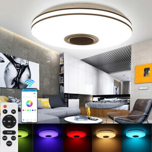 RGB LED Sternenhimmel Deckenlampe Bluetooth Lautsprecher Fernbedienung Dimmbar