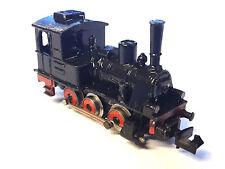 TRENINO MARKLIN LOCOMOTIVA A VAPORE IN METALLO HO 1:87 modellismo ferroviario