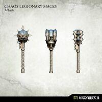 Kromlech Chaos Legionary Maces (3) Brand New KRCB186