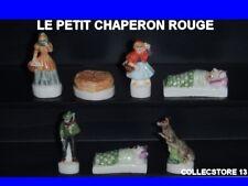SERIE COMPLETE DE FEVES LE PETIT CHAPERON ROUGE