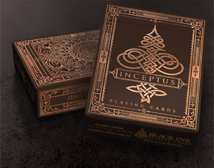 BRAND NEW CARDS - Inception Playing Cards - INCEPTUS edition