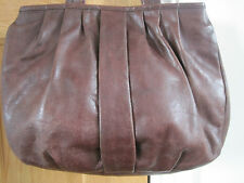 Women's L K BENNETT brown butter soft leather hobo/slouchy style handbag*