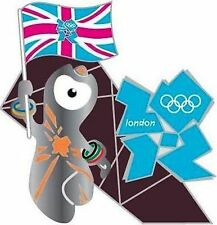 2012 LONDON WENLOCK WITH UNION FLAG OLYMPIC GM PIN NIP