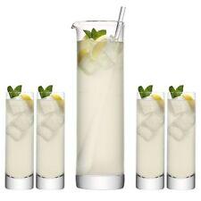 LSA Bar Long Drink Set - Pitcher Jug with 4 Highball Glasses