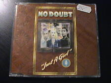 No Doubt JUST A GIRL European Import 3-trk CD Maxi